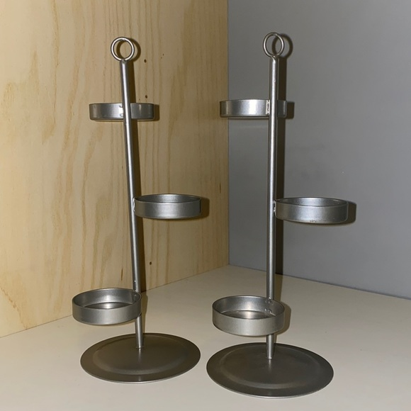 PartyLite silver Tealight trees